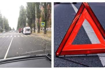 В Курске таксист сбил пешехода на «зебре»