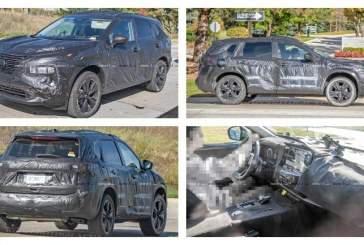 Появились первые снимки Nissan X-Trail нового поколения