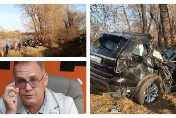 Мэр Абакана Николай Булакин погиб в дорожной аварии