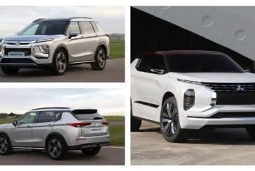Появились первые изображения Mitsubishi Outlander нового поколения