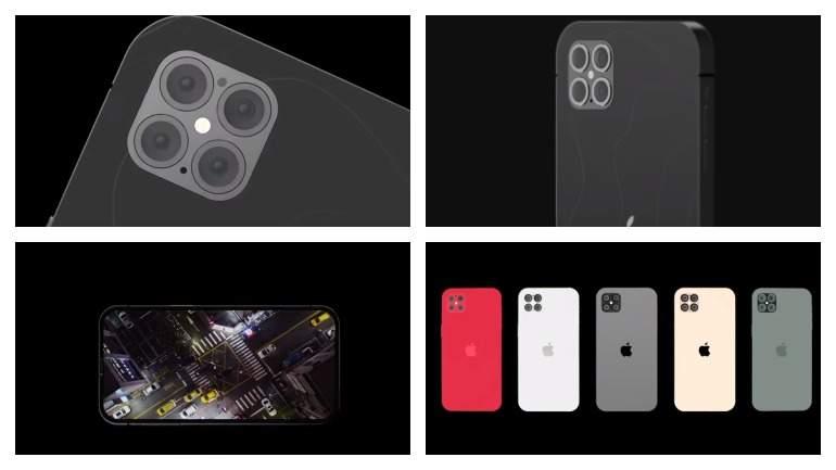 Необычный дизайн iPhone 12 Pro показали на новом видео