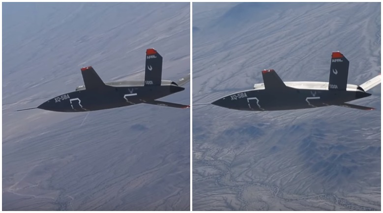 Новейший американский беспилотник сдуло ветром во время испытаний