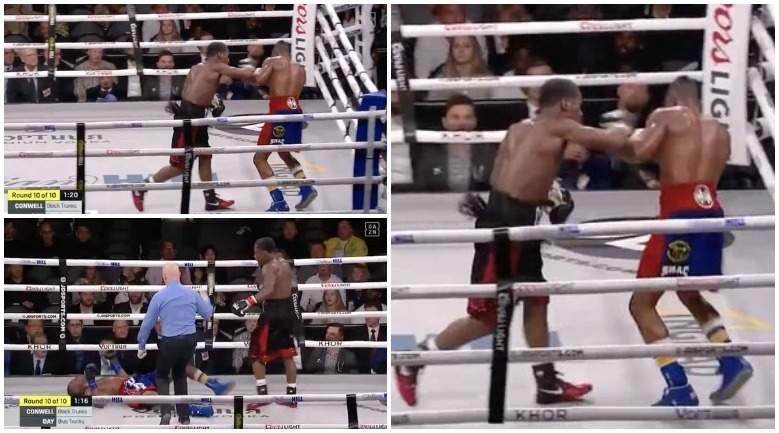 Американский боксер Дэй впал в кому после нокаута
