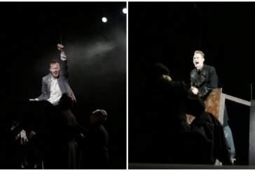 В Саратове прошёл спектакль «Роман с кокаином»