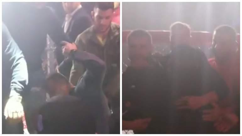 На турнире Fight Night Global 95 прошедшем в Сочи после боя Жалгаса Жумагулова из Казахстана и россиянина Али Багаутинова состоялась потасовка меж