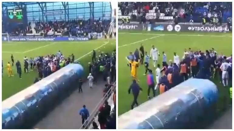 Игроки «Оренбурга» и «Крыльев Советов» подрались во время матча