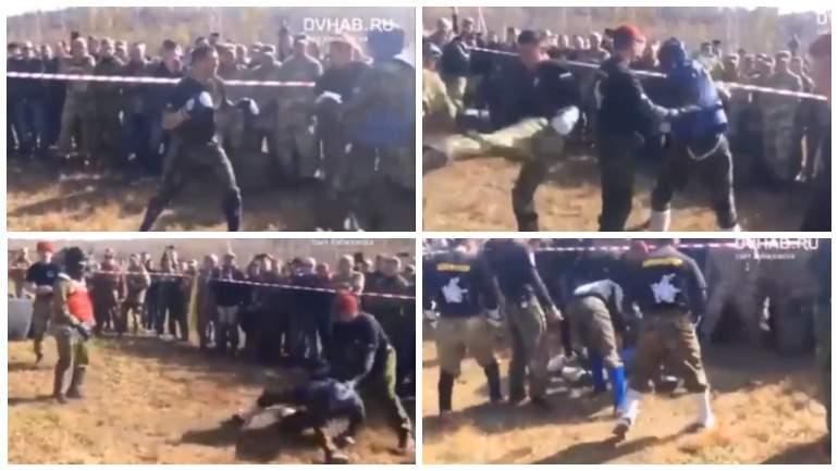 Видео: боец Росгвардии погиб во время экзамена на краповый берет