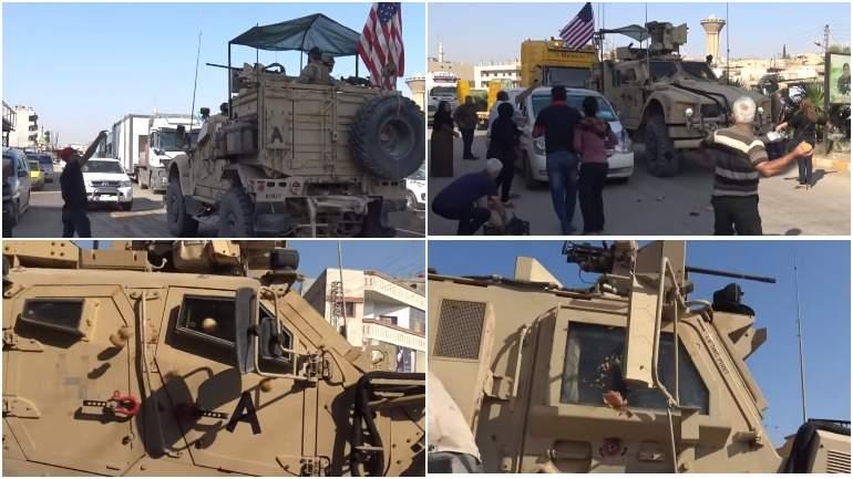 Курды закидали покидающих их город военных США помидорами и камнями