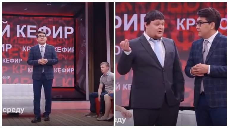 На ТНТ показали пародию на Владимира Соловьева