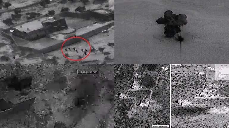 Опубликовано видео операции по уничтожению лидера ИГИЛ аль-Багдади