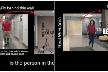 Учёные смогли идентифицировать человека за стеной при помощи технологии Wi-Fi