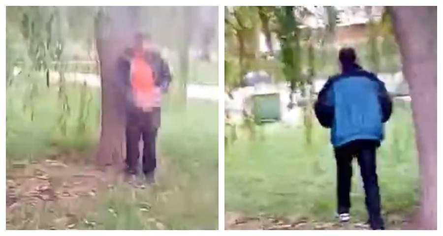 В центре Липецка поймали на видео эксгибициониста