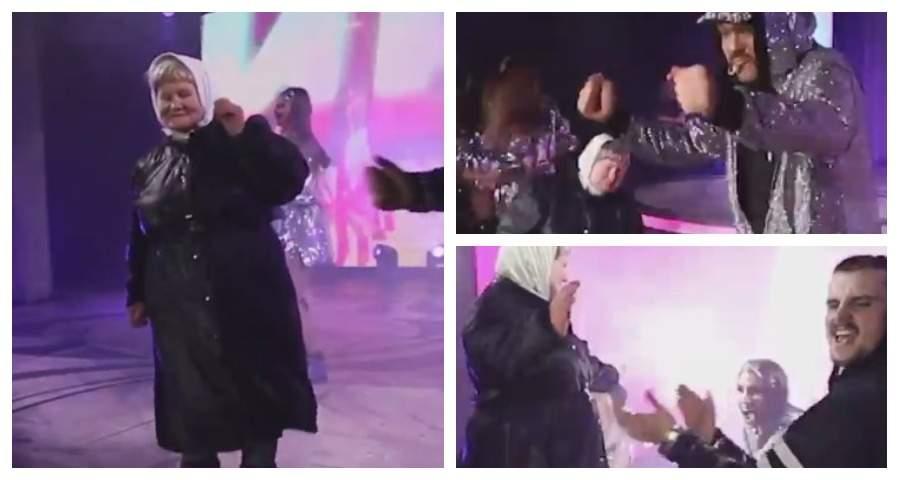 В Сыктывкаре на концерте Киркорова на сцене зажгла пенсионерка
