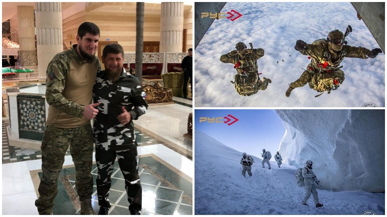 Присутствие российского спецназа на Шпицбергене подтвердили их снимки в Instagram