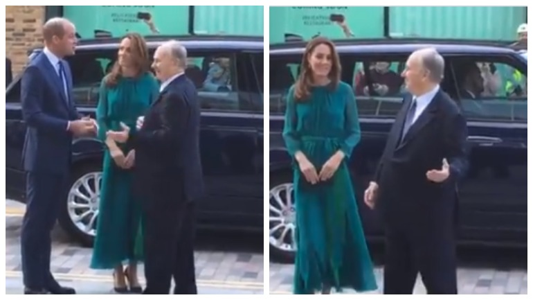 Кейт Миддлтон встретилась с принцем Каримом Ага-Ханом в центре культуры