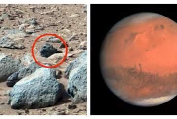 Уфолог обнаружил на снимке Марса «звериное лицо»
