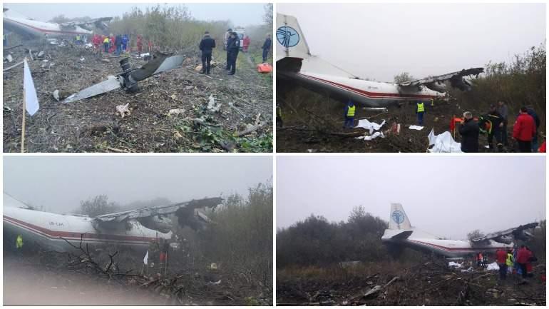 На Украине при аварийной посадке самолета погибли 4 человека