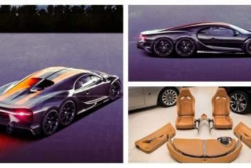 В Сети показали изображение Bugatti Chiron SS 6X6
