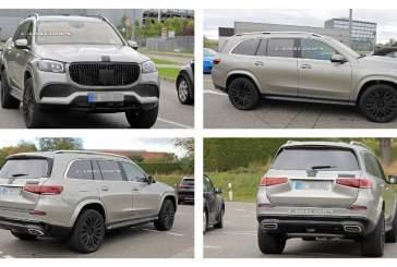 Серийный внедорожник Mercedes-Maybach GLS заметили во время тестов