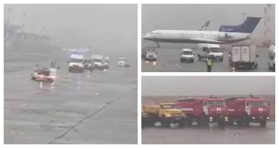 Летевший в Москву пассажирский самолет экстренно сел из-за сообщений о бомбе
