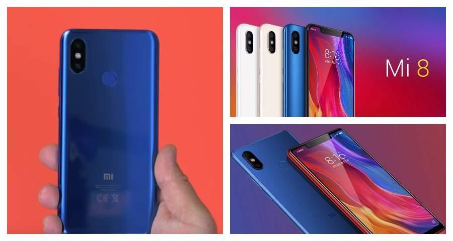 В Китае упали цены на смартфон Xiaomi Mi 8