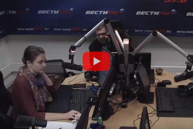 Один из слушателей радио Вести FM назвал Владимира Соловьева лакеем и путиноидом. В ответ ведущий обозвал его мразью. В рамках прям