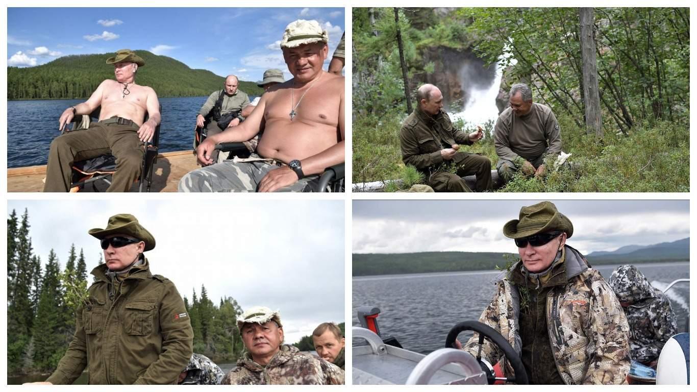 Сергей Шнуров написал стихотворение об отдыхе Владимира Путина в тайге
