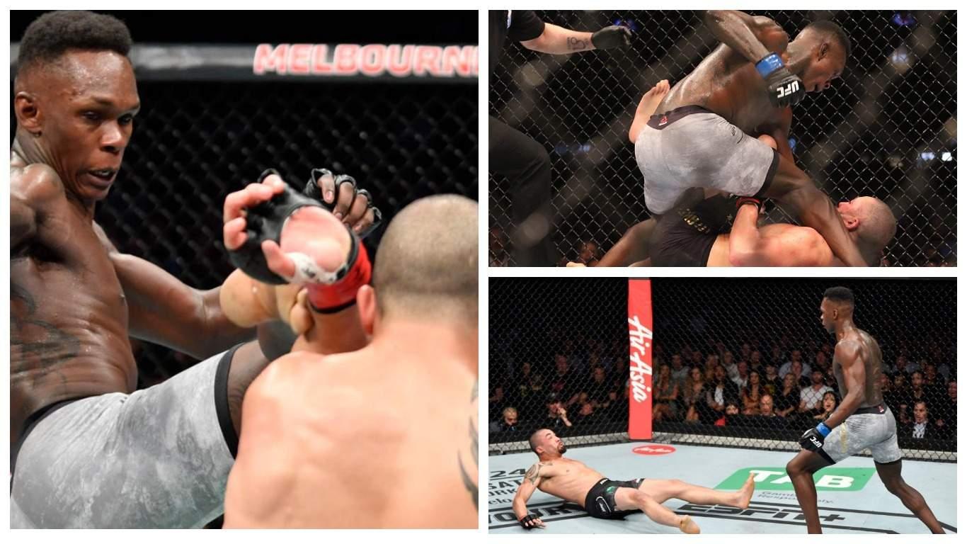 Адесанья отправил Уиттакера в нокаут и стал чемпионом UFC