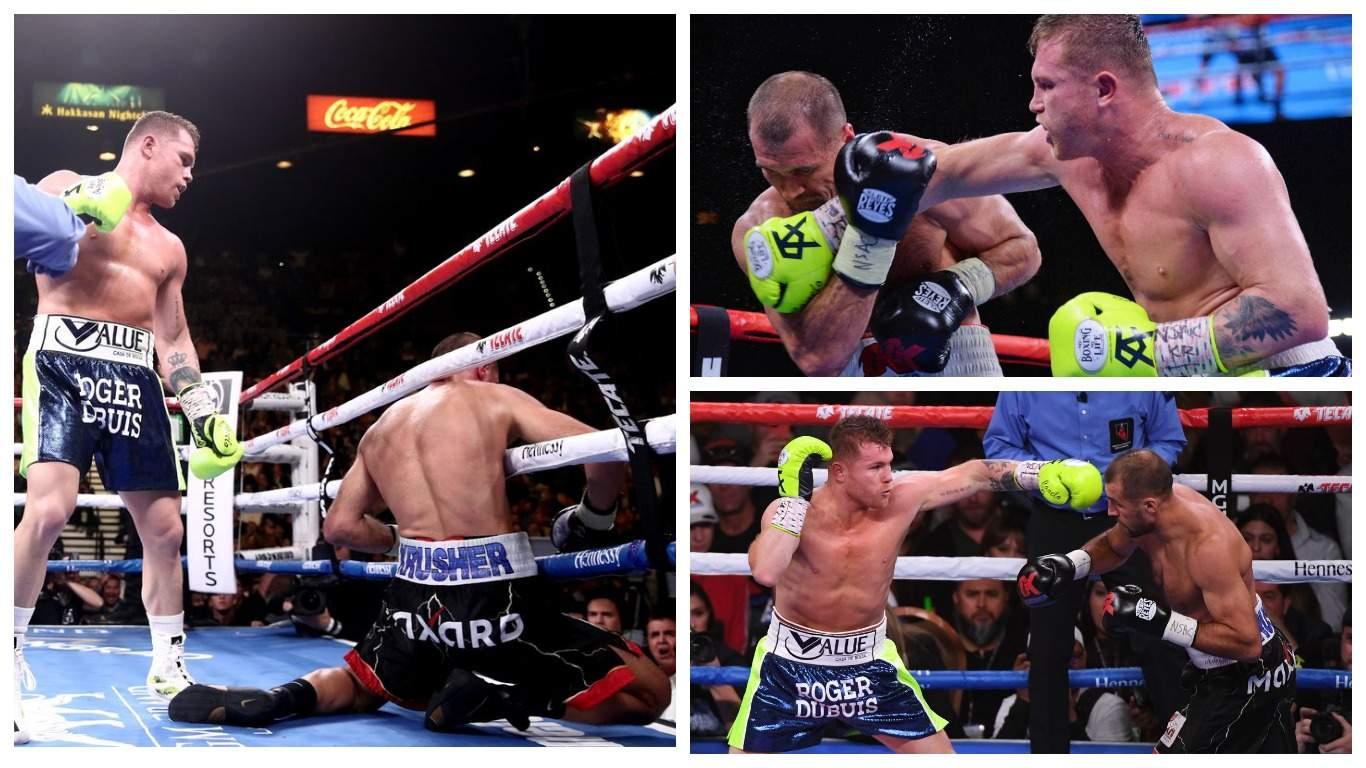 Сергей Ковалев проиграл Саулю Альваресу титул чемпиона мира по боксу