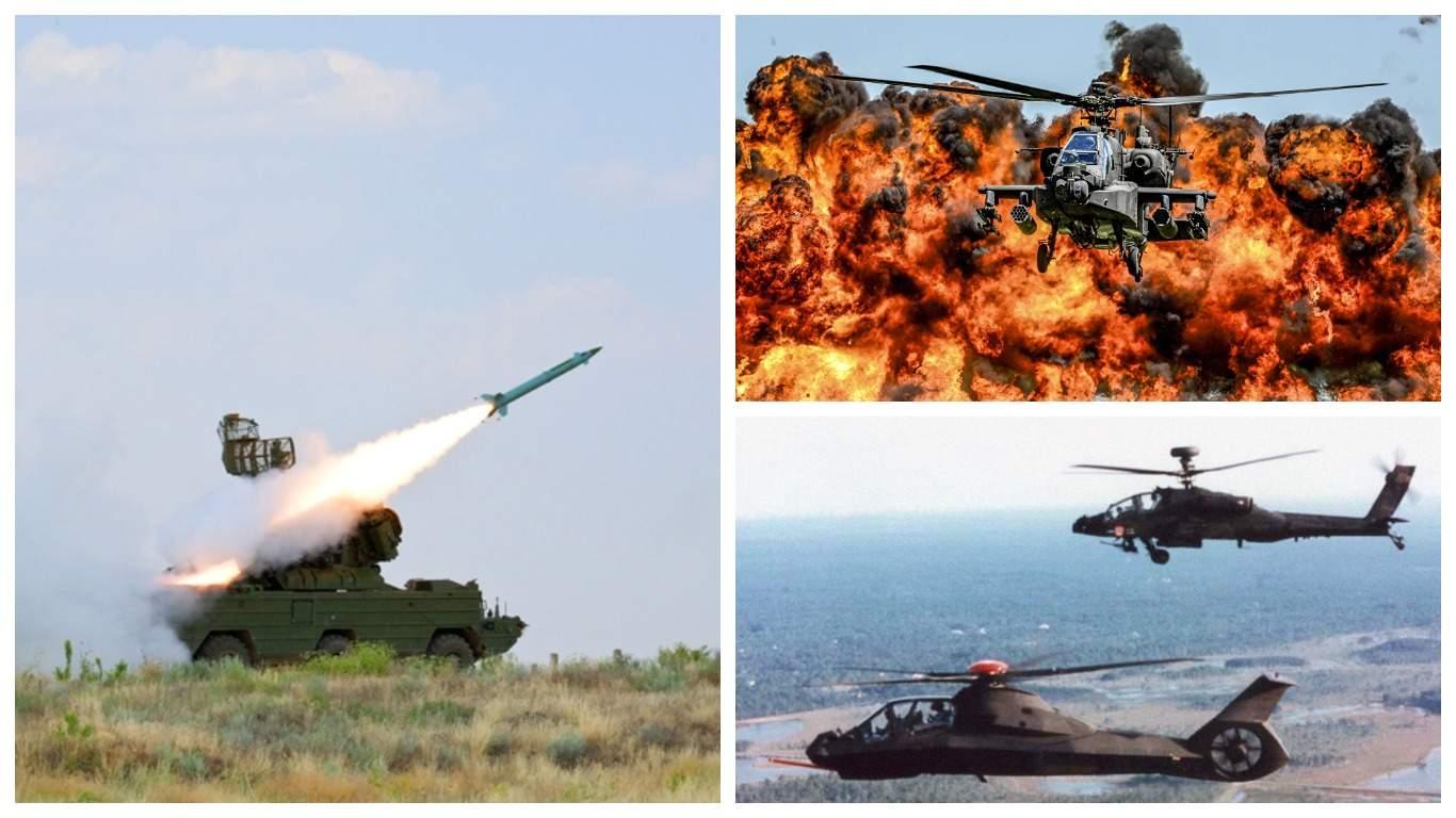 Опубликовано видео атаки советской «Осы» на американский вертолет Apache