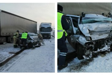 В жутком ДТП в Красноярском крае погибли 5 человек