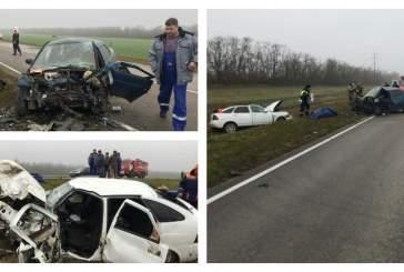 Три человека погибли в жуткой аварии под Ростовом