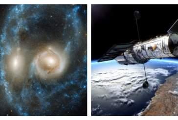 Телескоп Hubble запечатлел «зловещее лицо» в космосе
