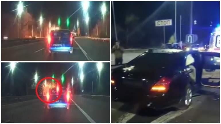 На видео попал взрыв автомобиля с российско-украинским бизнесменом в Киеве