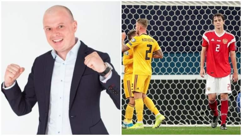 Украинский журналист посмеялся над проигрышем сборной России по футболу
