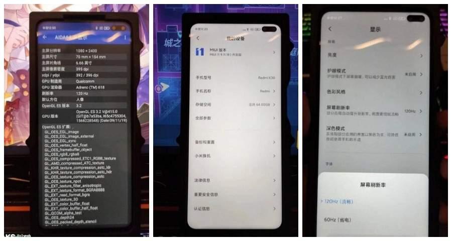 В следующем месяце ожидается официальное представление нового смартфона Redmi K30 а затем его Pro-версии. Недавно в Сети были опубликованы жив