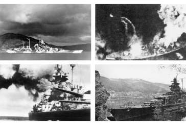 Британцы 75 лет назад потопили легендарный немецкий линкор «Тирпиц»