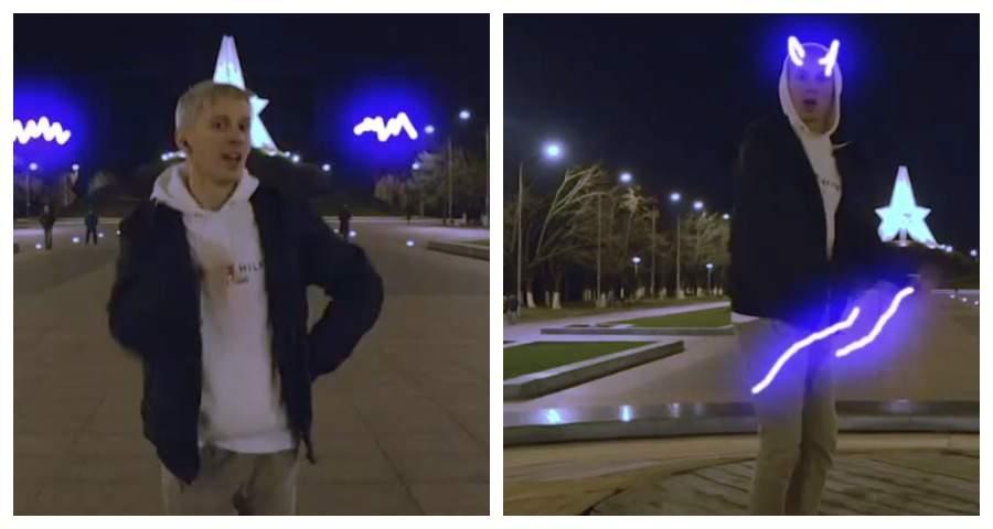 На Кургане Бессмертия в Брянске сняли новое танцевальное видео