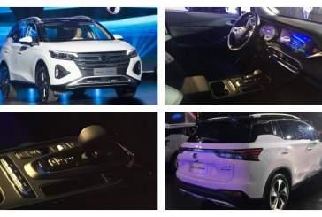 Китайский GAC представил кроссовер с расходом топлива 1,3 литра на 100 км