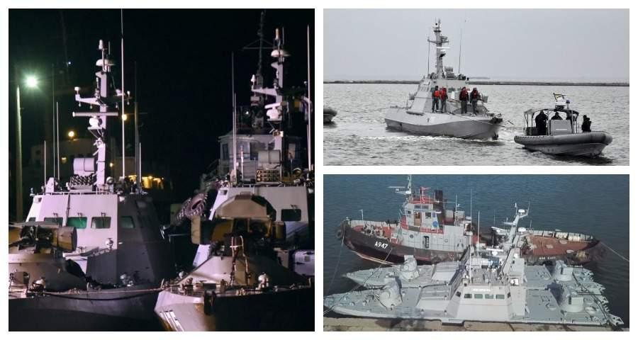 Захарова пошутила о «пропаже» унитазов с задержанных Россией украинских кораблей