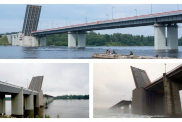 На трассе «Кола» ограничат движение транспорта из-за разводки Ладожского моста