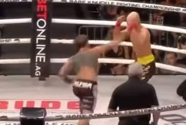Найт нокаутировал Лобова на турнире по кулачным боям