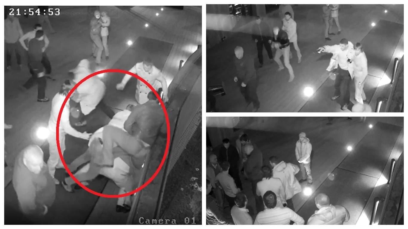 Появилось видео начала перестрелки на Рочдельской улице