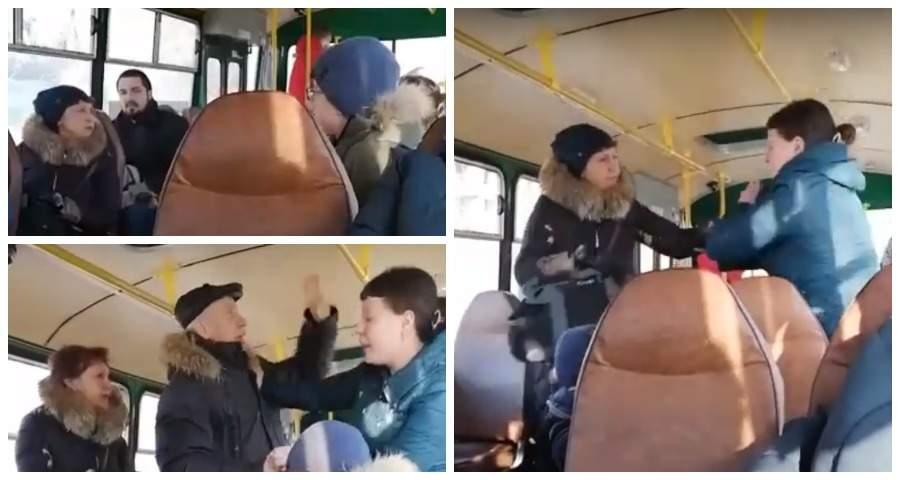 Две жительницы Екатеринбурга из-за алкоголя устроили драку в автобусе