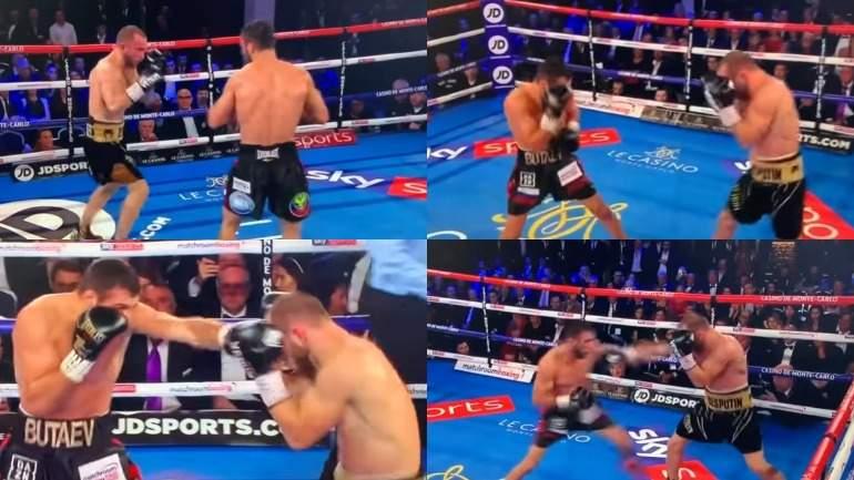 Беспутин одолел Бутаева и стал чемпионом мира по боксу