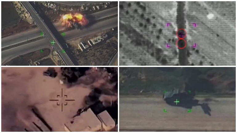 ВКС России уничтожили штаб террористов в Сирии