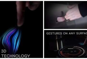 Новый ультразвуковой датчик UltraSense делает любую поверхность сенсорной