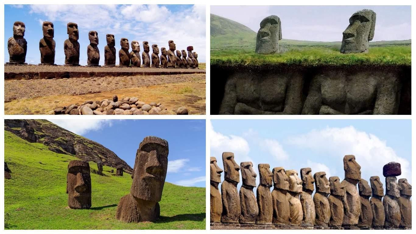 Ученые разгадали тайну каменных истуканов на острове Пасхи