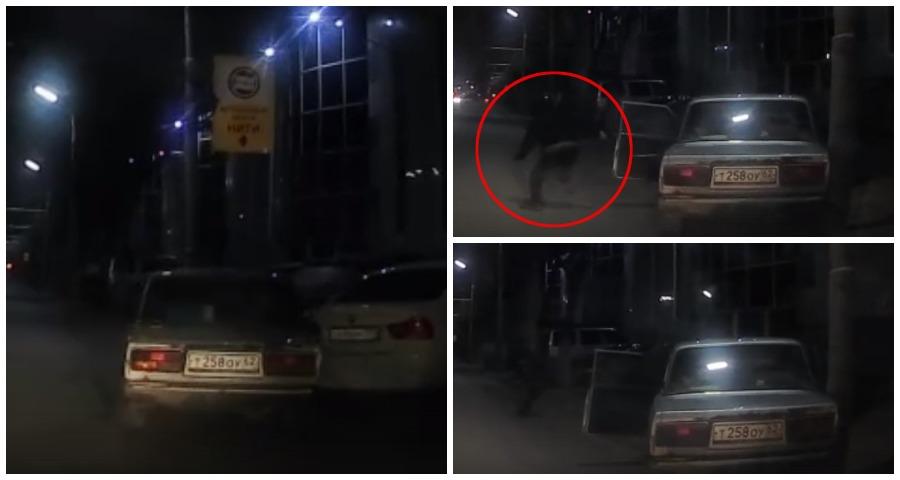 В Рязани подростки угнали автомобиль и врезались в столб