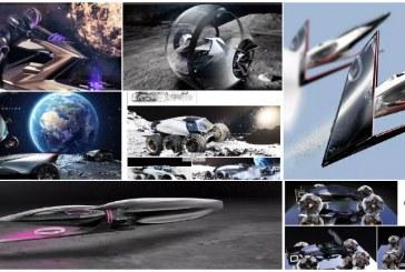 Lexus представил концепты необычных транспортных средств для Луны